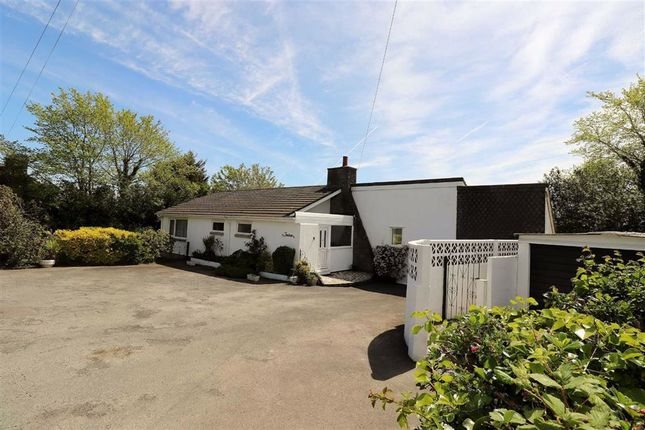 Thumbnail Bungalow for sale in Comins Coch, Aberystwyth, Ceredigion
