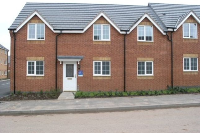 Thumbnail Flat to rent in Godwin Way, Lymevale View, Trent Vale