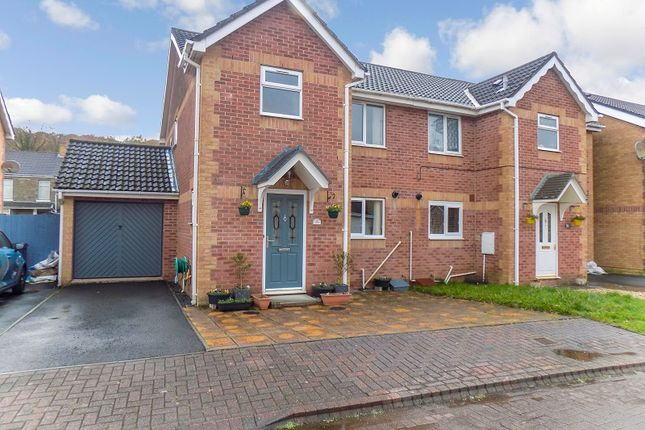 Thumbnail Semi-detached house for sale in Drumfields, Cadoxton, Neath, Neath Port Talbot.