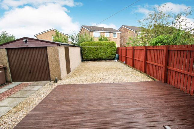 Rear Garden of Fisher Drive, Paisley PA1