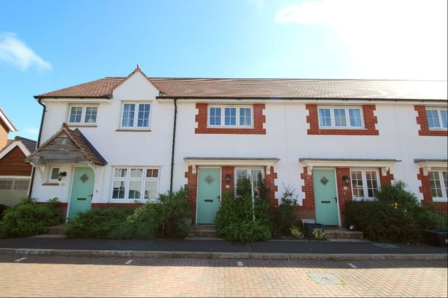 Thumbnail Terraced house to rent in Clover Way, Newton Abbot