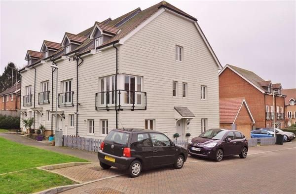 Thumbnail End terrace house for sale in Greystones, Willesborough, Ashford