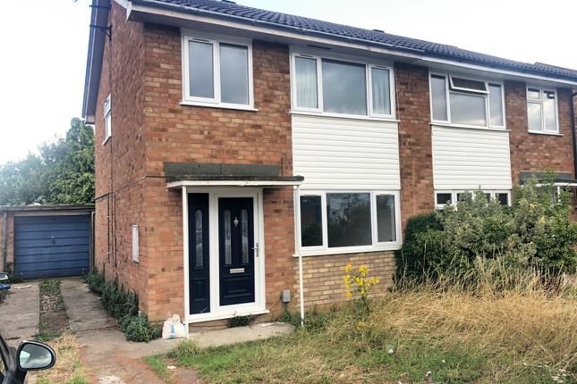 Thumbnail Property to rent in Eastdale Close, Kempston, Bedford