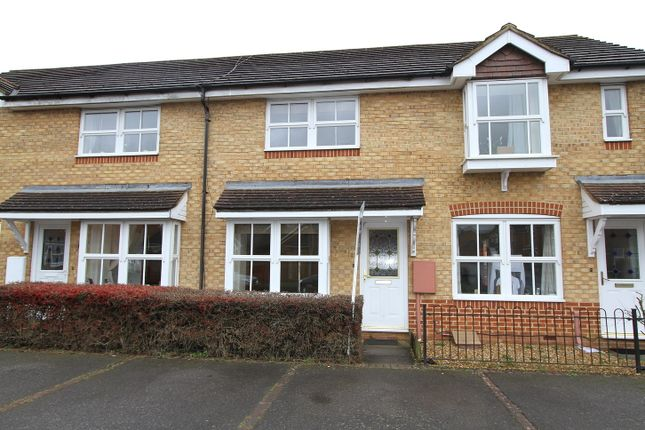 Thumbnail Terraced house to rent in Blackbird Close, Brackley