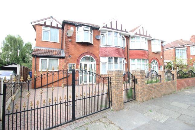 Thumbnail Semi-detached house for sale in Northleigh Road, Firswood, Manchester