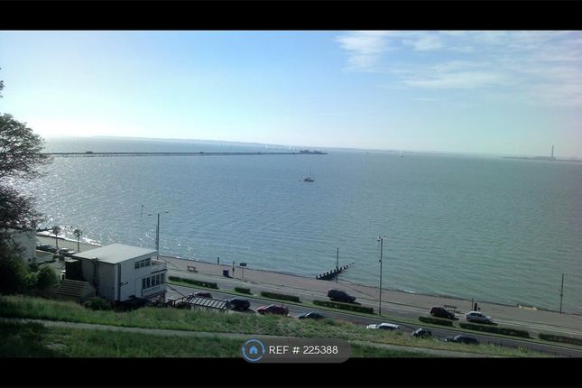 Thumbnail Flat to rent in F Clifftown Parade, Southend On Sea