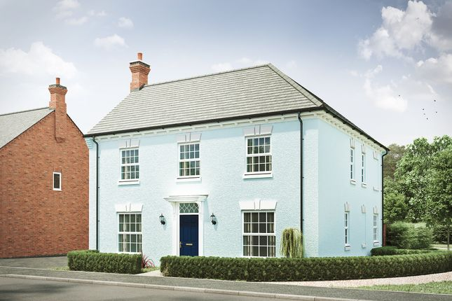 "Thumbnail Detached house for sale in ""The Kibworth Georgian II"" at Davidsons At Wellington Place, Leicester Road, Market Harborough"