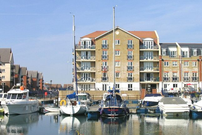 Thumbnail Flat to rent in The Piazza, Sovereign Harbour South, Eastbourne