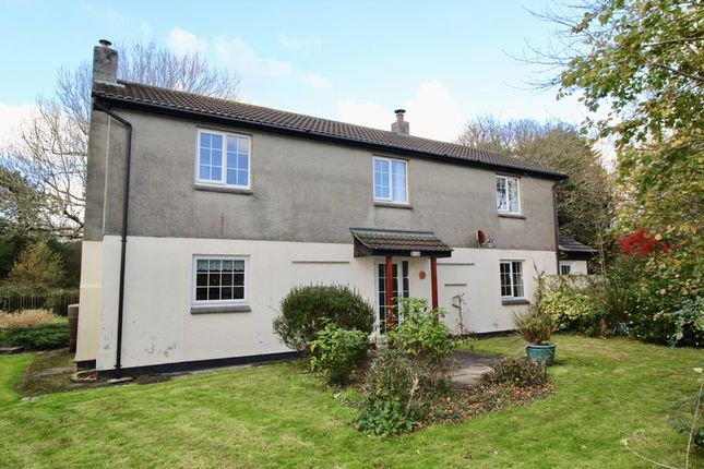 Thumbnail Detached house for sale in Valley Close, Perranwell, Goonhavern, Truro