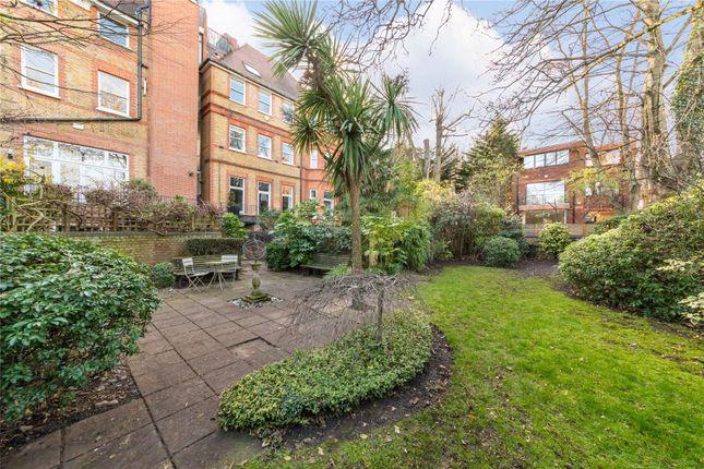 Communal Garden of Eton Avenue, Belsize Park, London NW3