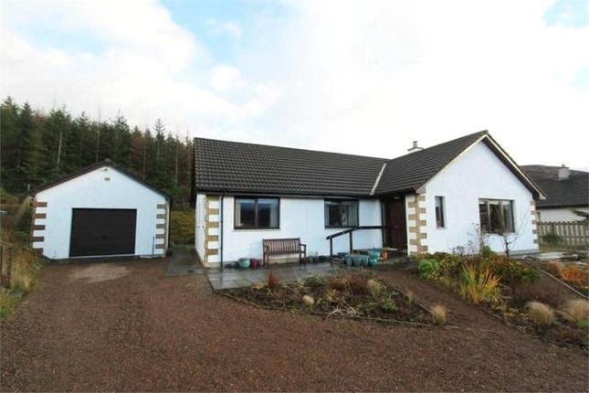 Thumbnail Detached bungalow for sale in Parc Mhor, Braes, Ullapool