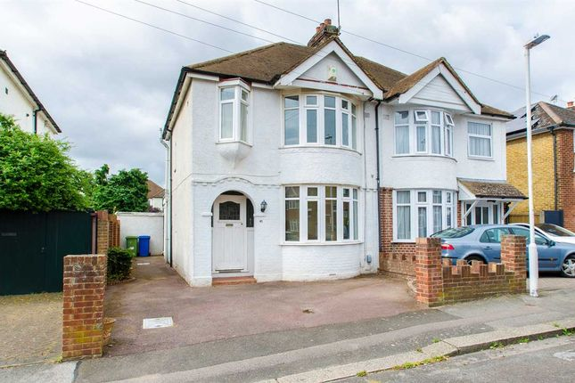 Thumbnail Semi-detached house for sale in Eastwood Road, Sittingbourne