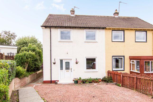 Thumbnail Semi-detached house for sale in Craigpark Avenue, Ratho, Newbridge