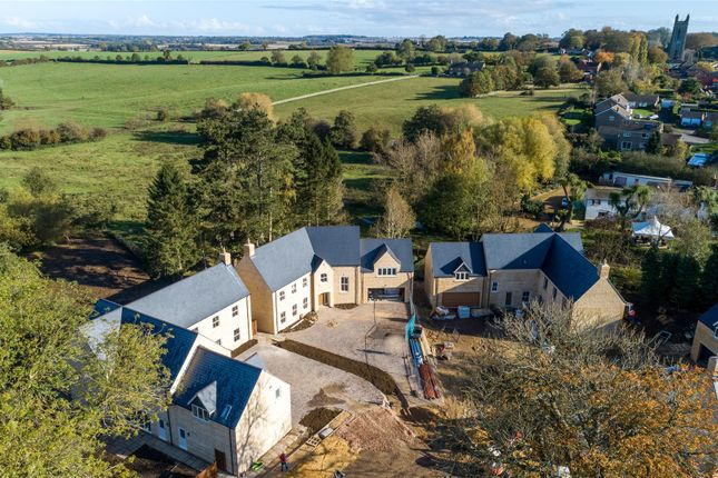 Site Aerial of The Hollies, Main Street, Whissendine LE15