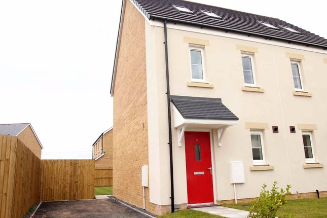 Thumbnail Semi-detached house to rent in Ffordd Y Meillion, Llanelli