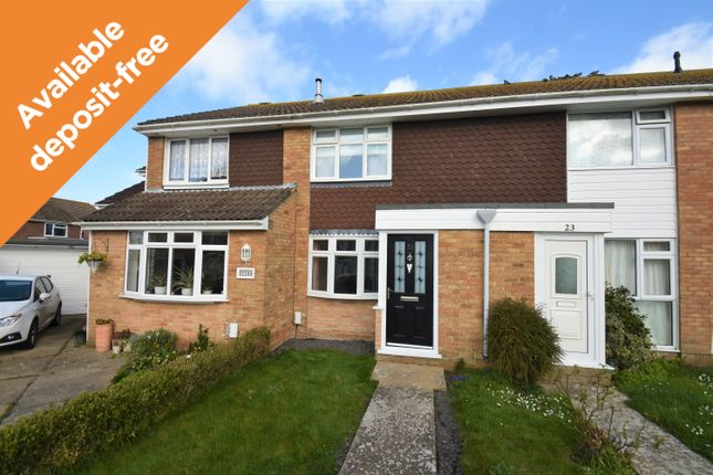 Thumbnail Terraced house to rent in St. Francis Road, Gosport
