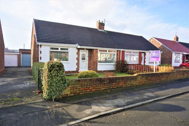 Thumbnail Semi-detached bungalow for sale in Bourn Lea, Shiney Row, Houghton Le Spring