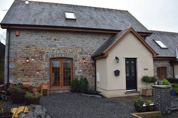 Thumbnail Barn conversion to rent in Porthyrhyd, Carmarthen