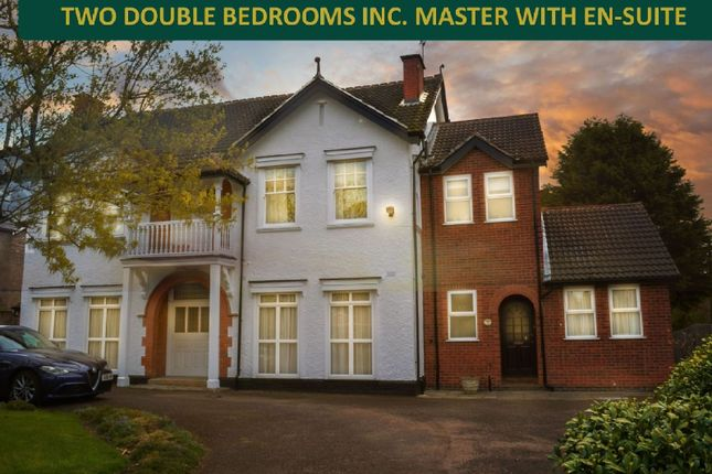 Thumbnail Flat for sale in White House Court, Evington, Leicester