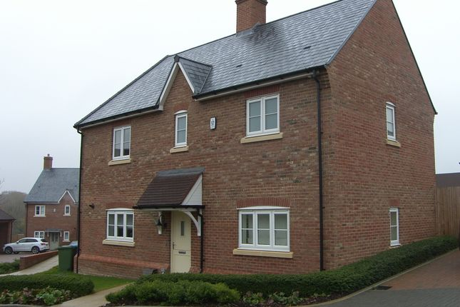 Thumbnail Link-detached house to rent in Teasel Down, Woodhurst Park, Warfield, Bracknell