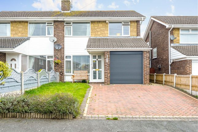 3 bed semi-detached house for sale in Moelwyn Close, Bryn-Y-Baal CH7