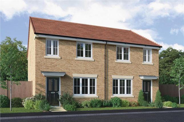 """Thumbnail Semi-detached house for sale in """"The Overton"""" at Elm Avenue, Pelton, Chester Le Street"""