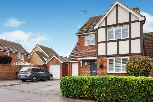 Thumbnail 4 bed detached house for sale in Royce Close, Peterborough