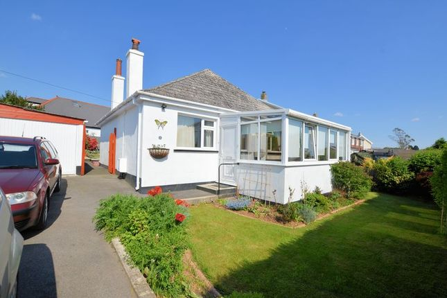Thumbnail Detached bungalow for sale in West View Road, Bere Alston, Yelverton