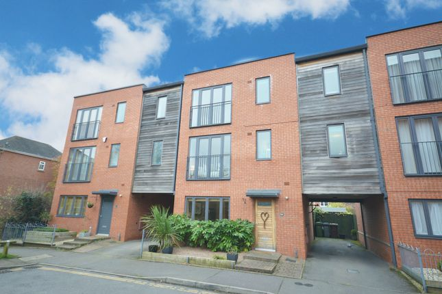Thumbnail Town house for sale in Ascote Lane, Dickens Heath, Shirley, Solihull