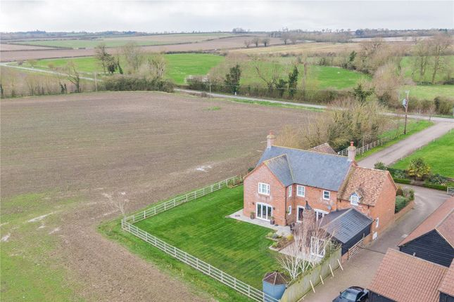 Thumbnail Detached house for sale in Linden Grove, Keyston, Huntingdon, Cambridgeshire