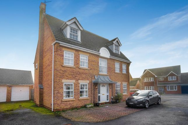 Thumbnail Detached house for sale in Belisana Road, Spalding
