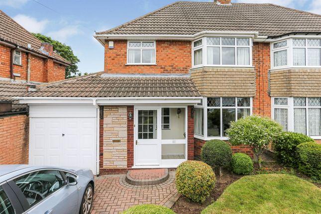 Thumbnail Semi-detached house for sale in Southfield Avenue, Castle Bromwich, Birmingham