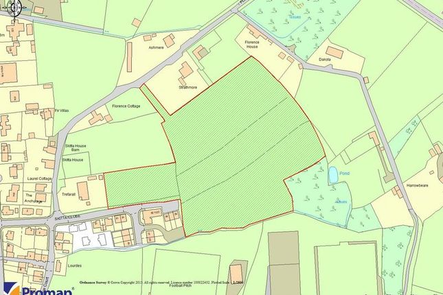 Thumbnail Land for sale in Florence Hill, Callington