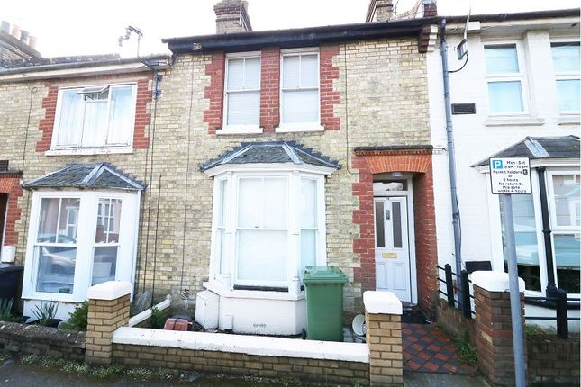 Thumbnail Terraced house to rent in Kent Avenue, Ashford