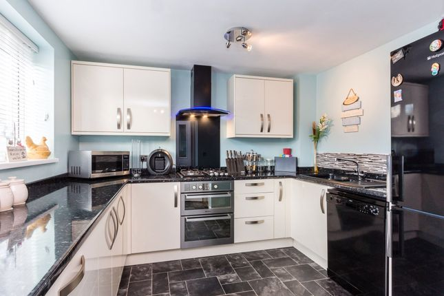 Thumbnail Town house for sale in Blackwell Close, Higham Ferrers, Rushden
