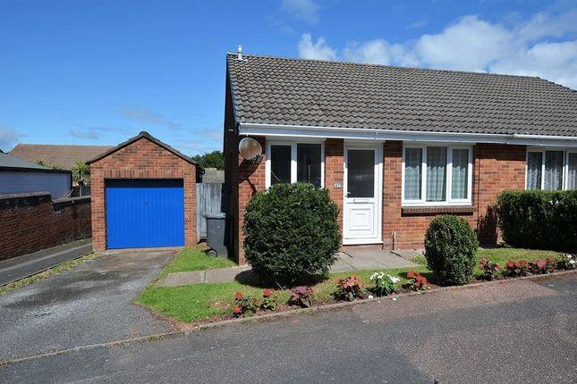 Thumbnail Semi-detached bungalow for sale in Haytor Avenue, Roselands, Paignton