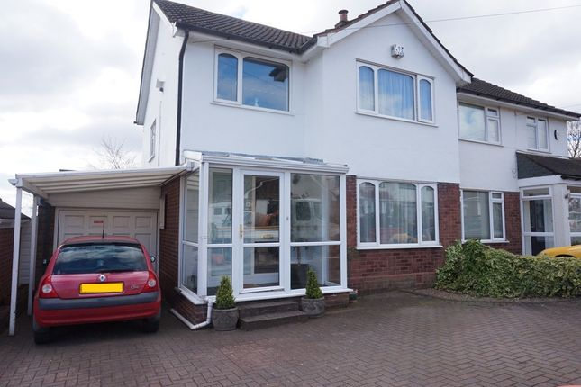 Thumbnail Semi-detached house for sale in Abbotsford Avenue, Great Barr, Birmingham