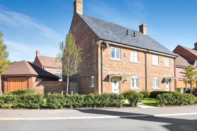 Thumbnail Semi-detached house for sale in Sorrel Drive, Warfield, Berkshire