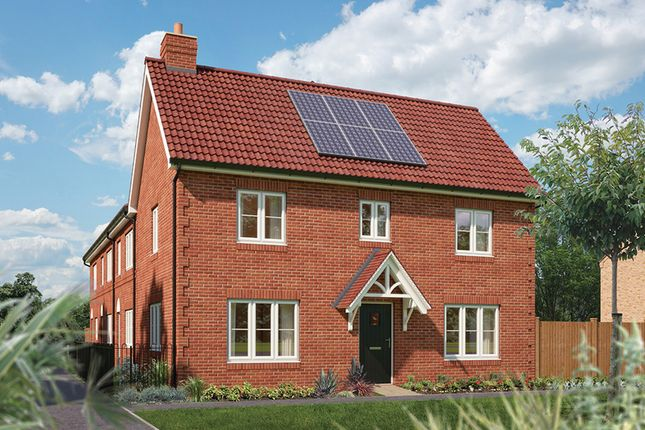 "Thumbnail Semi-detached house for sale in ""The Spruce"" at Hadham Road, Bishop's Stortford"
