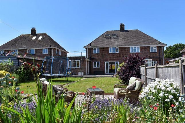 Thumbnail Semi-detached house for sale in Sweyns Lease, East Boldre, Brockenhurst