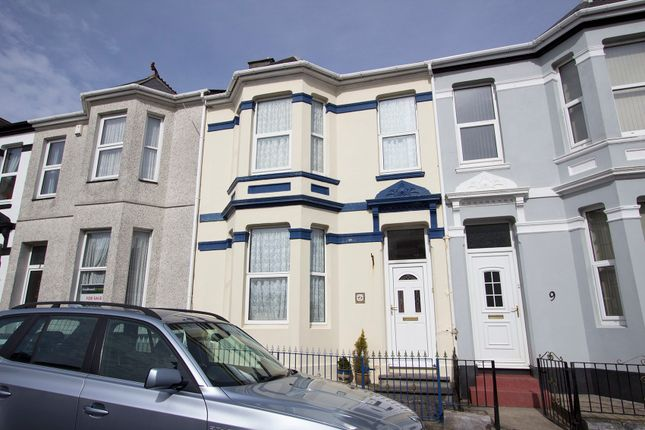 Thumbnail Terraced house for sale in Anson Place, St. Judes, Plymouth