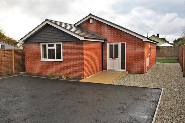 Thumbnail Detached bungalow for sale in Victoria Road, Ferndown