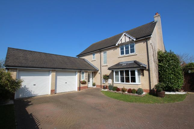 Thumbnail Detached house for sale in Jefferson Close, Colchester