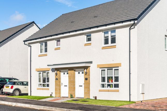 "Thumbnail Terraced house for sale in ""Coull"" at Barochan Road, Houston, Johnstone"