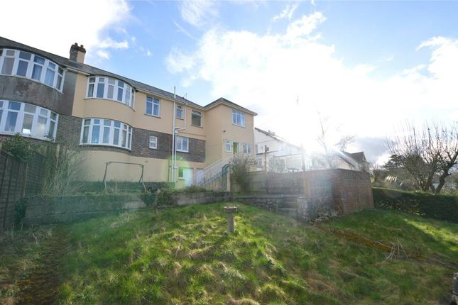 Thumbnail Semi-detached house for sale in Knowles Hill Road, Newton Abbot, Devon