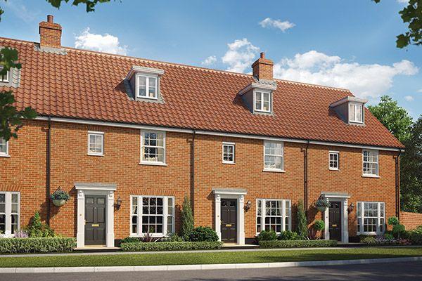 3 bedroom semi-detached house for sale in Cromer Road, Holt, Norfolk