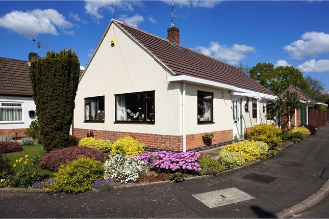 Thumbnail Detached bungalow for sale in Walsingham Crescent, Leicester Forest East