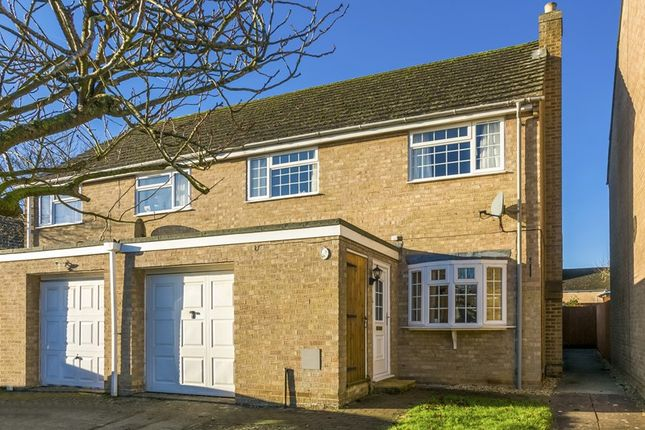 Thumbnail Semi-detached house for sale in Holliers Crescent, Middle Barton, Chipping Norton