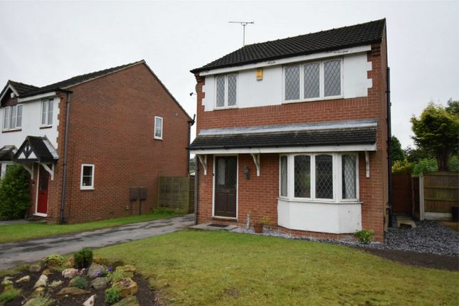 Thumbnail Detached house to rent in The Brockwell, South Normanton, Alfreton, Derbyshire