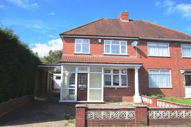 Thumbnail Semi-detached house to rent in Cromwell Drive, Dudley